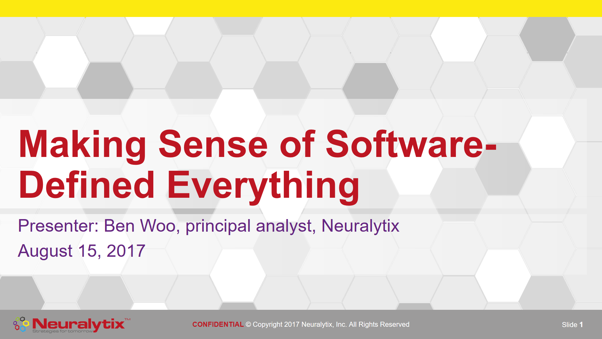 Making Sense of Software-Defined Everything [Webinar]